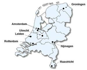 CI centra in Nederland