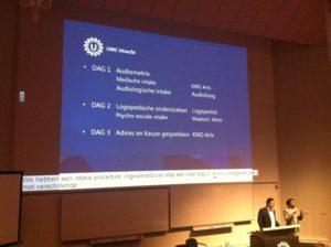 presentatie in UMC
