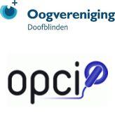 Logo combinatie Oogvereniging en OPCI