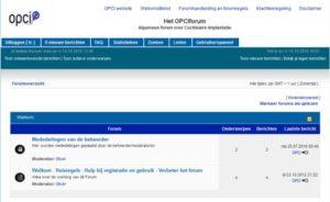 OPCI forum