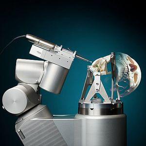 Robotarm voor schedelchirurgie