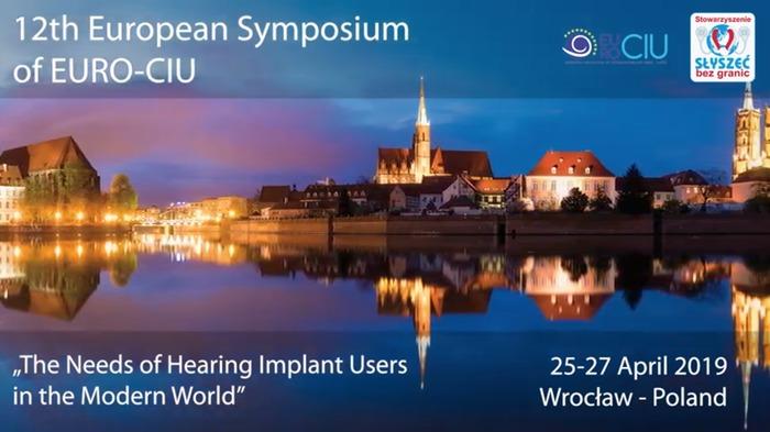 flyer van het 12e EURO-CIU symposium