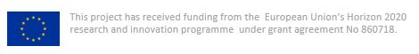 EU-vlag met tekst over financiering van dit project