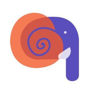 Logo van de Elephant-studie